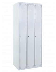 Taquilla metálica1 puerta GRIS ancho 40cm 3 módulos