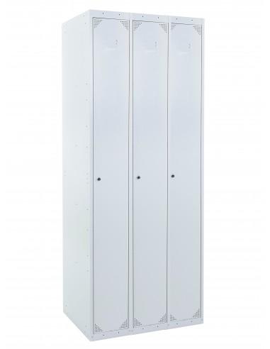 taquilla 1 puerta gris ancho 25cm
