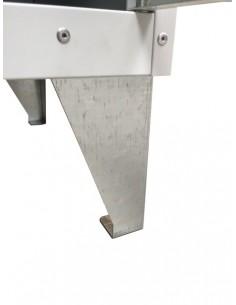 Techo inclinado taquilla 25 cm
