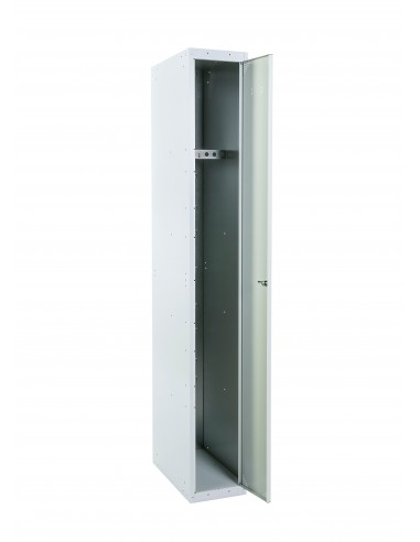 Taquilla 1 puerta gris ancho 30cm. 1 módulo
