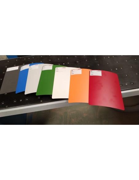 Taquilla 2 puertas 1 módulo  de melamina color roble Nebrasca. Colores disponible de taquillas.